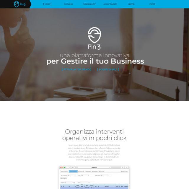 Web Design sito Pin3