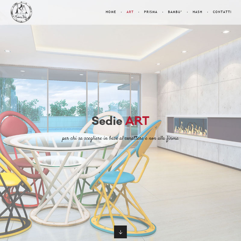 realizzazione sito web ra design area web imola