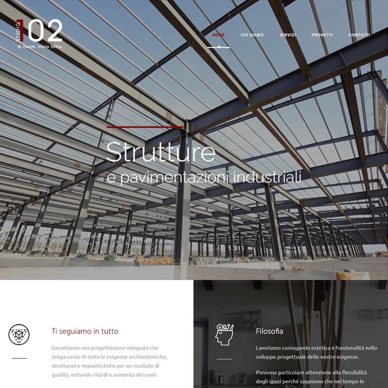 realizzazione sito web studio 102 silvia selva - area web imola