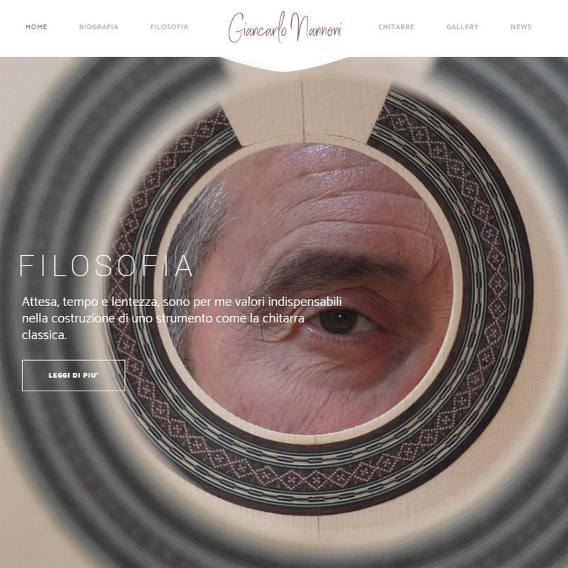 realizzazione sito web giancarlo nannoni - area web imola