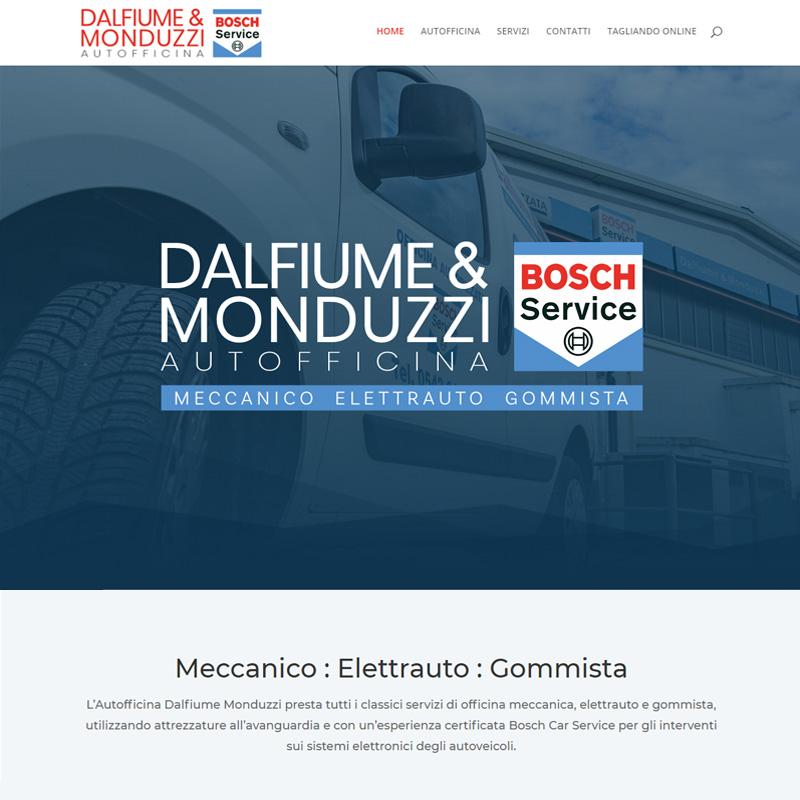 realizzazione sito web autofficina dalfiume monduzzi imola - area web imola
